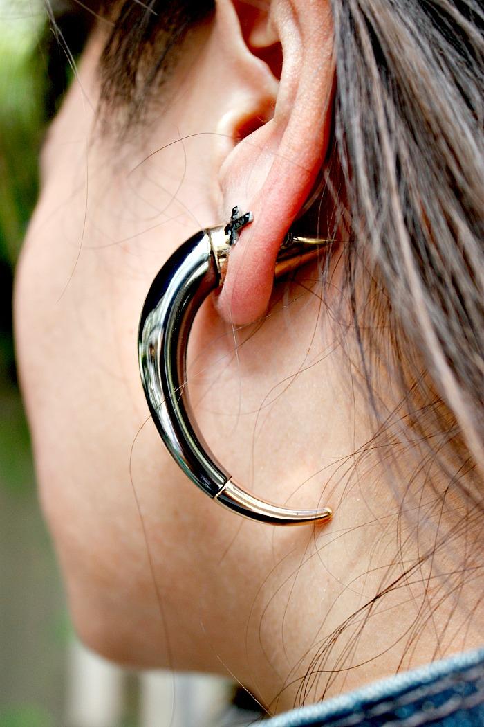Givenchy, Earrings, Horn Earrings, Jewelry